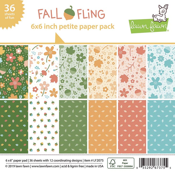 *OFFER OF THE WEEK* - Lawn Fawn - fall fling petite paper pack (12/1/20)