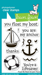 Lawn Fawn- Stamps - Float My Boat