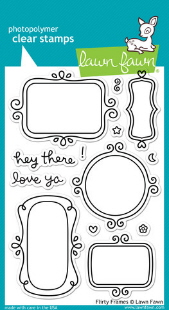 Lawn Fawn- Stamps - Flirty Frames