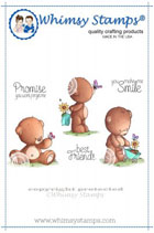 ##Whimsy Stamps - Teddy Best Friends - Lee Holland Collection