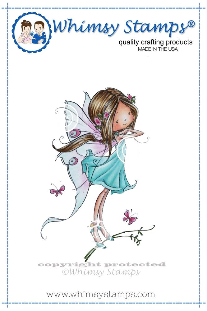 Whimsy Stamps - Faye the Fairy