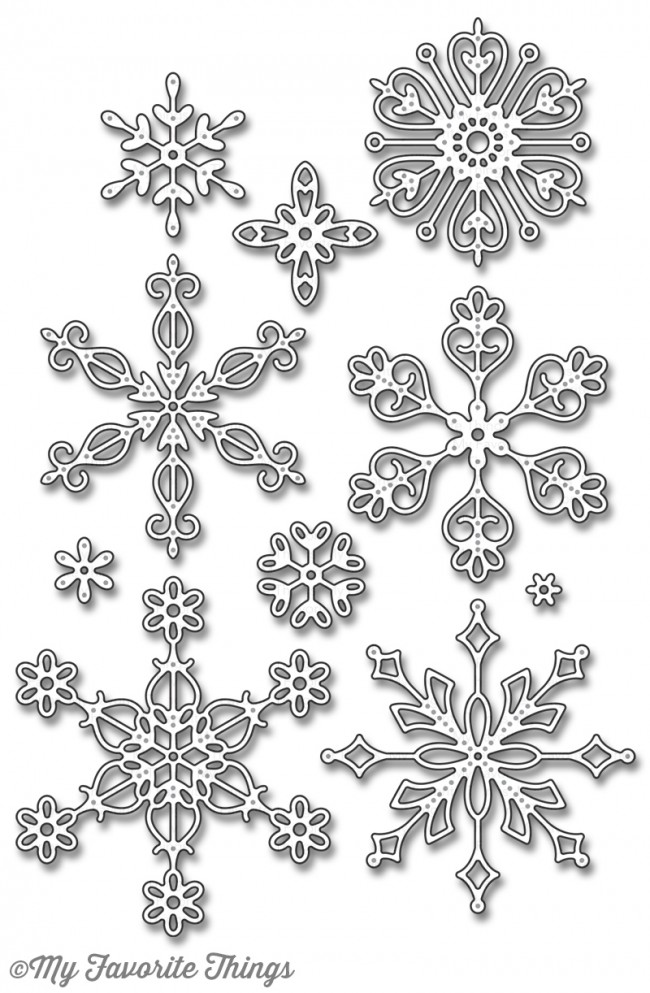 My Favorite Things - Die-namics Stylish Snowflakes
