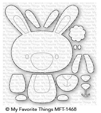 *NEW* - My Favorite Things - Cottontail Cutie Die-namics