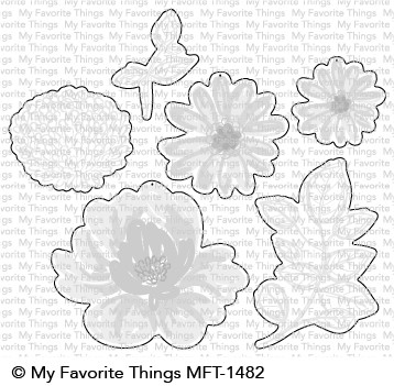 *NEW* - My Favorite Things - Painted Petals Die-namics
