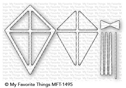 *NEW* - My Favorite Things - Kite Shaker Window & Frame Die-namics