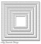 #### My Favorite Things -  Double Stitched Square STAX Die-namics