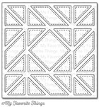 #### D My Favorite Things -  Diagonal Quilt Square Cover-Up Die-namics