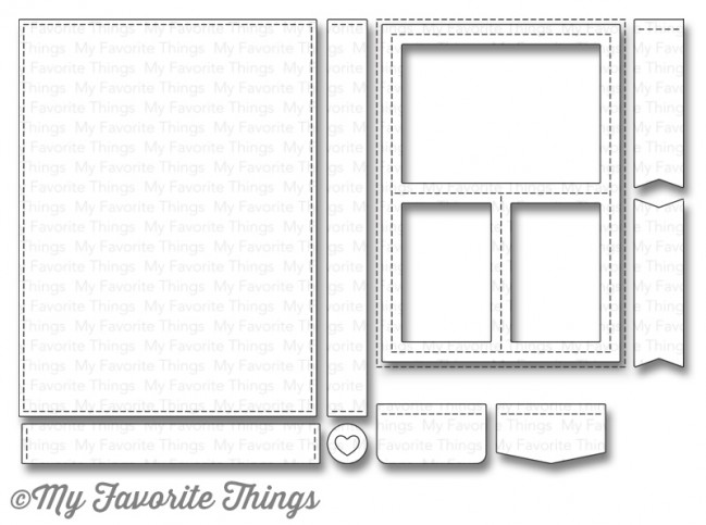 My Favorite Things - Die-namics Blueprints 29