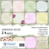 SP1 Whimsy Stamps - Marshmallow Delight - 6 x 6 Paper Packs