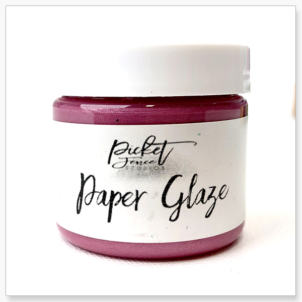*NEW* - Picket Fence Studios - Paper Glaze - Peony Pink
