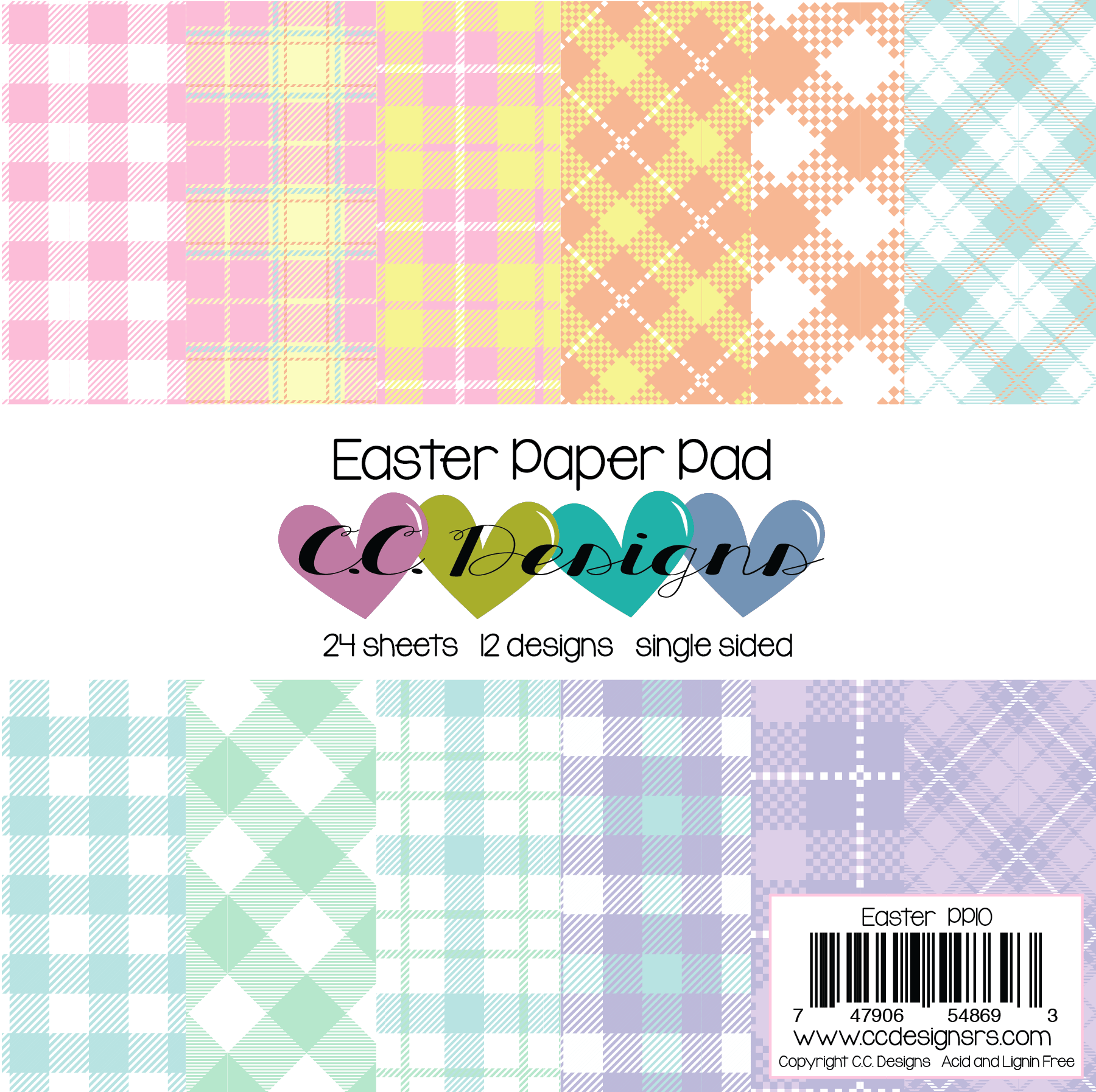 *NEW* - CC Designs - Easter Paper Pad
