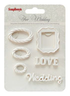 Scrapberry's Polymer - Wedding 3