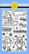 * XMAS* Sunny Studio- Snow Kissed Stamp Set