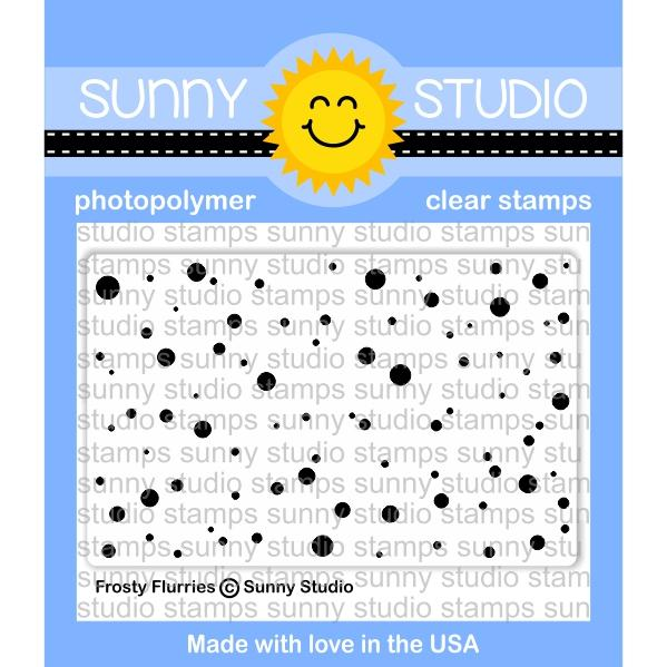 *NEW* - Sunny Studio - Frosty Flurries Stamps
