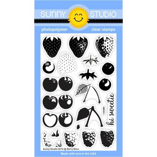 *NEW* - Sunny Studio - Berry Bliss Stamps