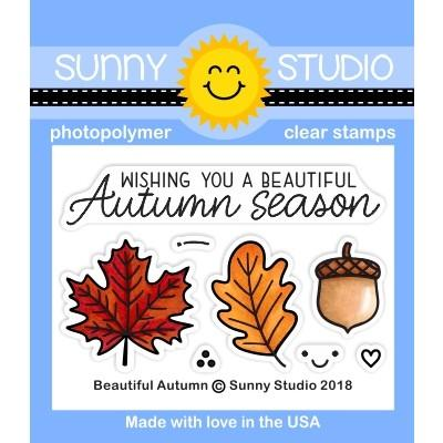 *NEW* - Sunny Studio - Beautiful Autumn Stamps