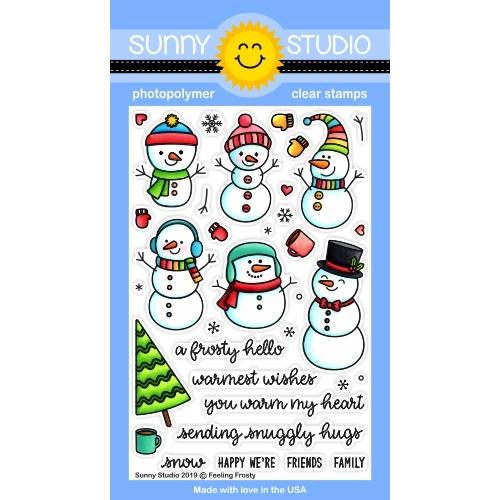 *NEW* - Sunny Studio - Feeling Frosty Stamps