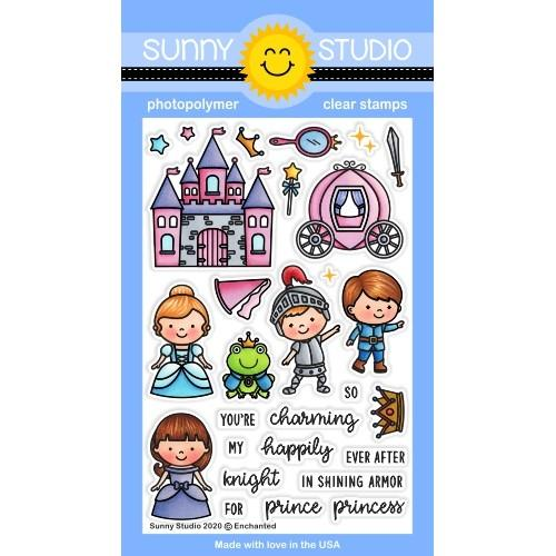 *NEW* - Sunny Studio - Enchanted Stamps
