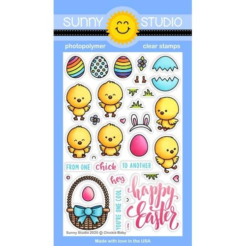 *NEW* - Sunny Studio - Chickie Baby Stamps