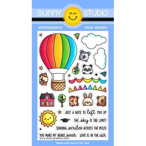 *NEW* - Sunny Studio - Balloon Rides Stamps