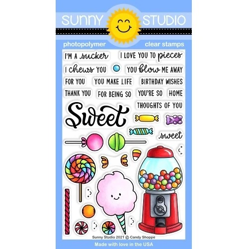 *NEW* - Sunny Studio - Candy Shoppe Stamps