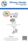 CL Whimsy Stamps - Time For Tea - Cupcake - Time For Tea Designs