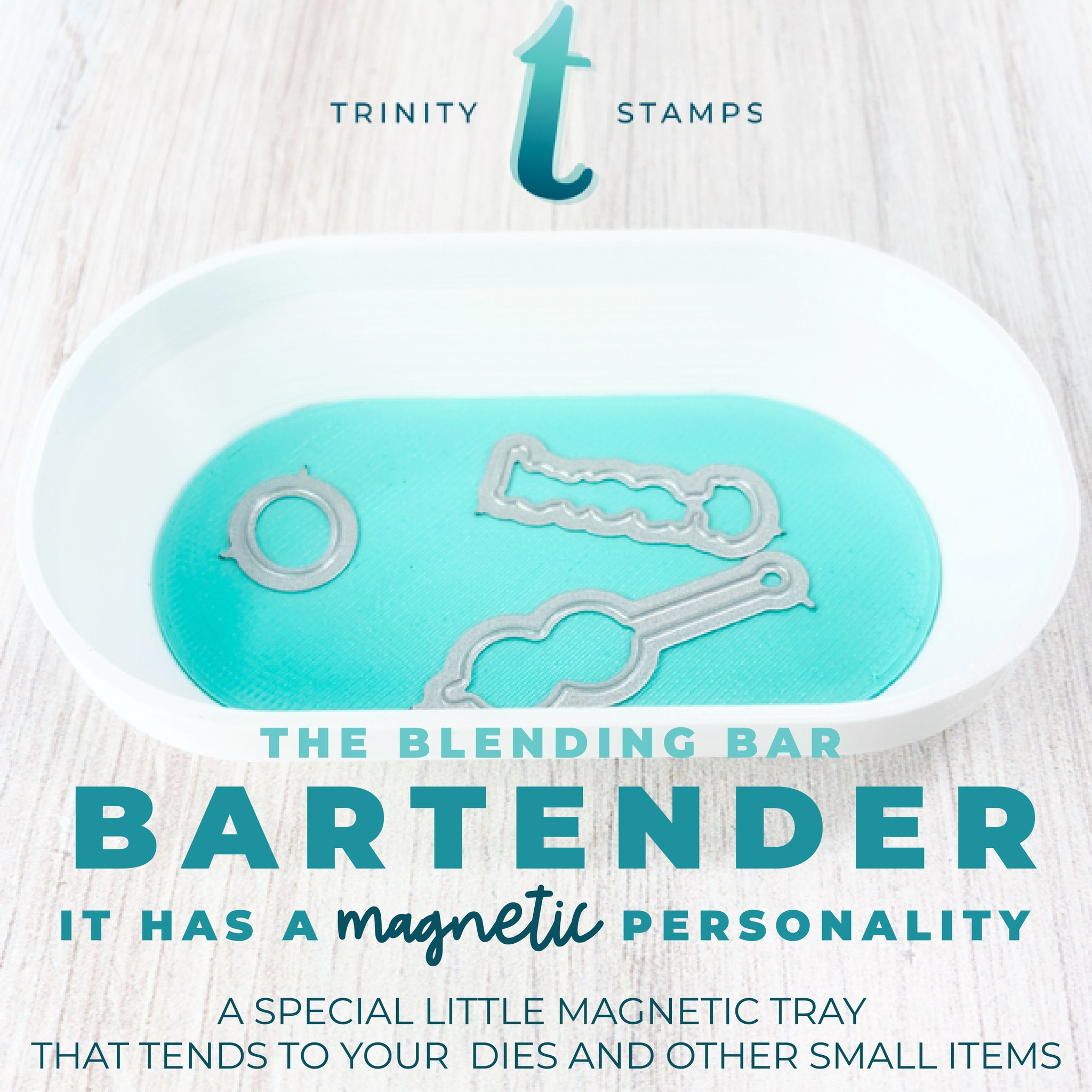 *NEW* - Trinity Stamps - Blending Bar - Bartender Magnetic Tray