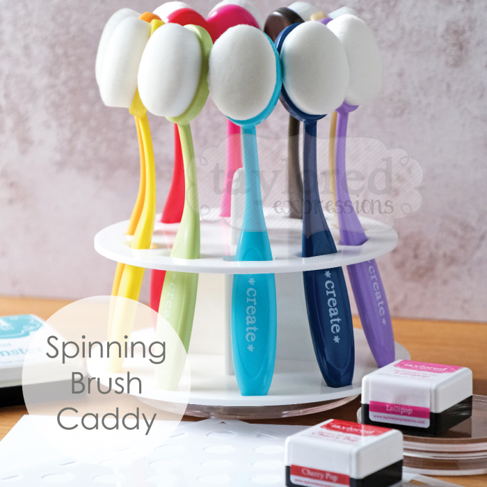 ** PRE-ORDER* Taylored Expressions - Blender Brush Storage Caddy DUE IN END OF NOV.