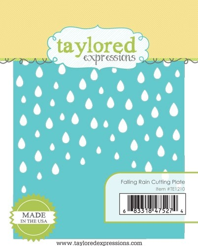 Taylored Expression - Falling Rain Cutting Plate