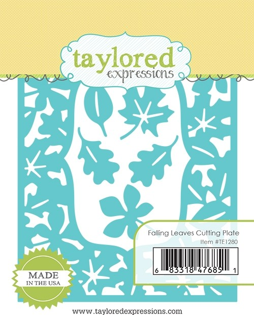 Taylored Expression - Falling Leaves Cutting Plate