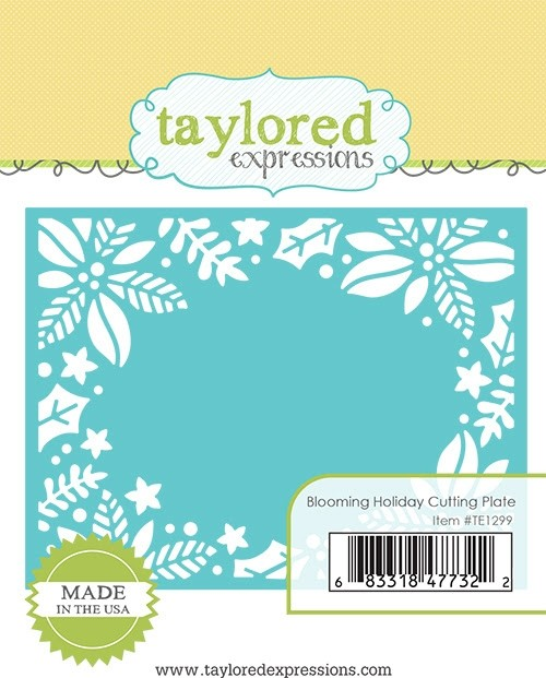*NEW* - Taylored Expression - Blooming Holiday Cutting Plate
