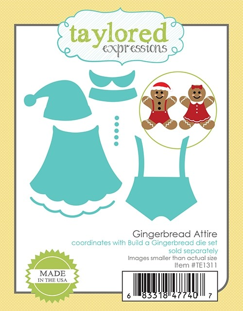 Taylored Expression - Gingerbread Attire