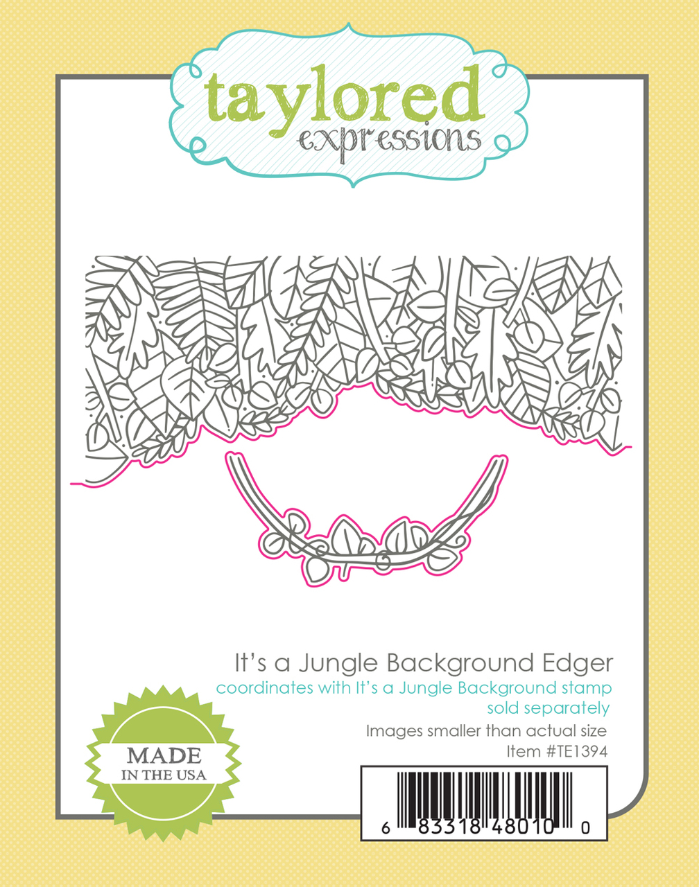 Taylored Expression - It's a Jungle Background Edger