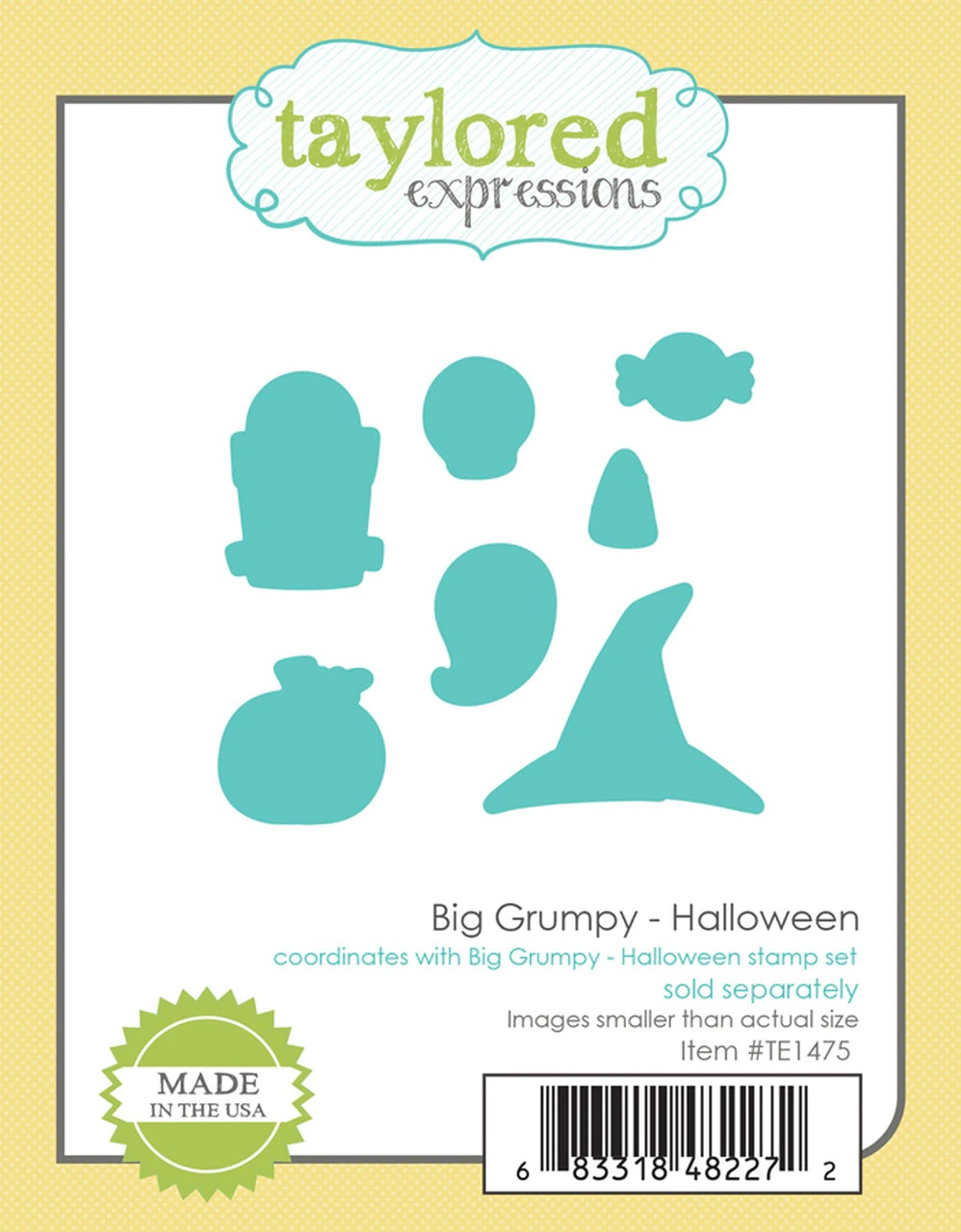 **PRE-ORDER* - Taylored Expression - BIG GRUMPY - HALLOWEEN DIES