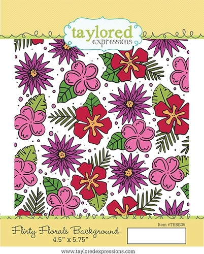 Taylored Expression - Flirty Florals Background