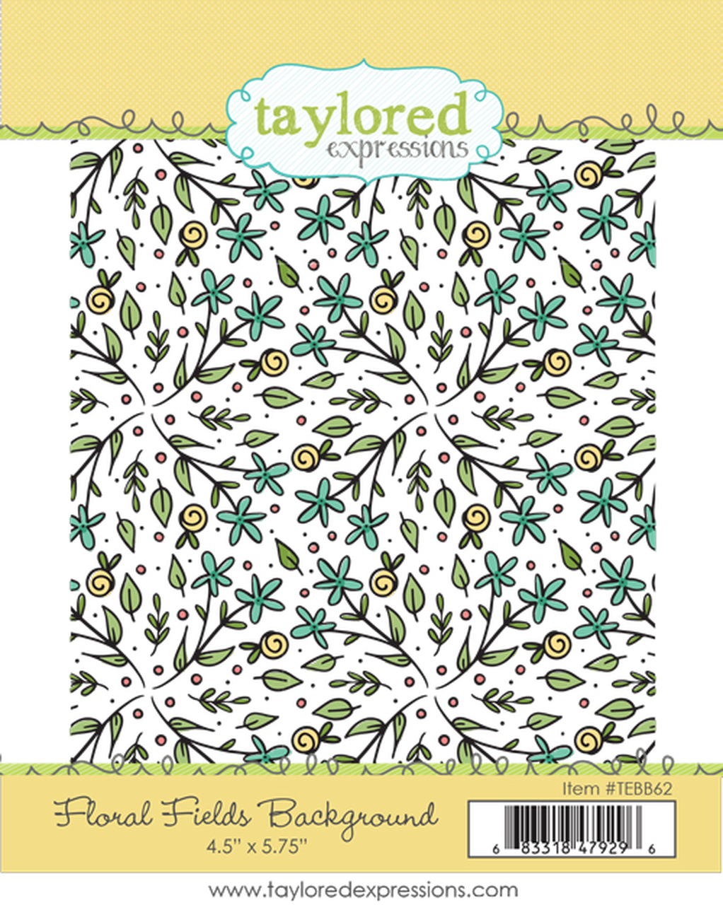 Taylored Expression - Floral Fields Background