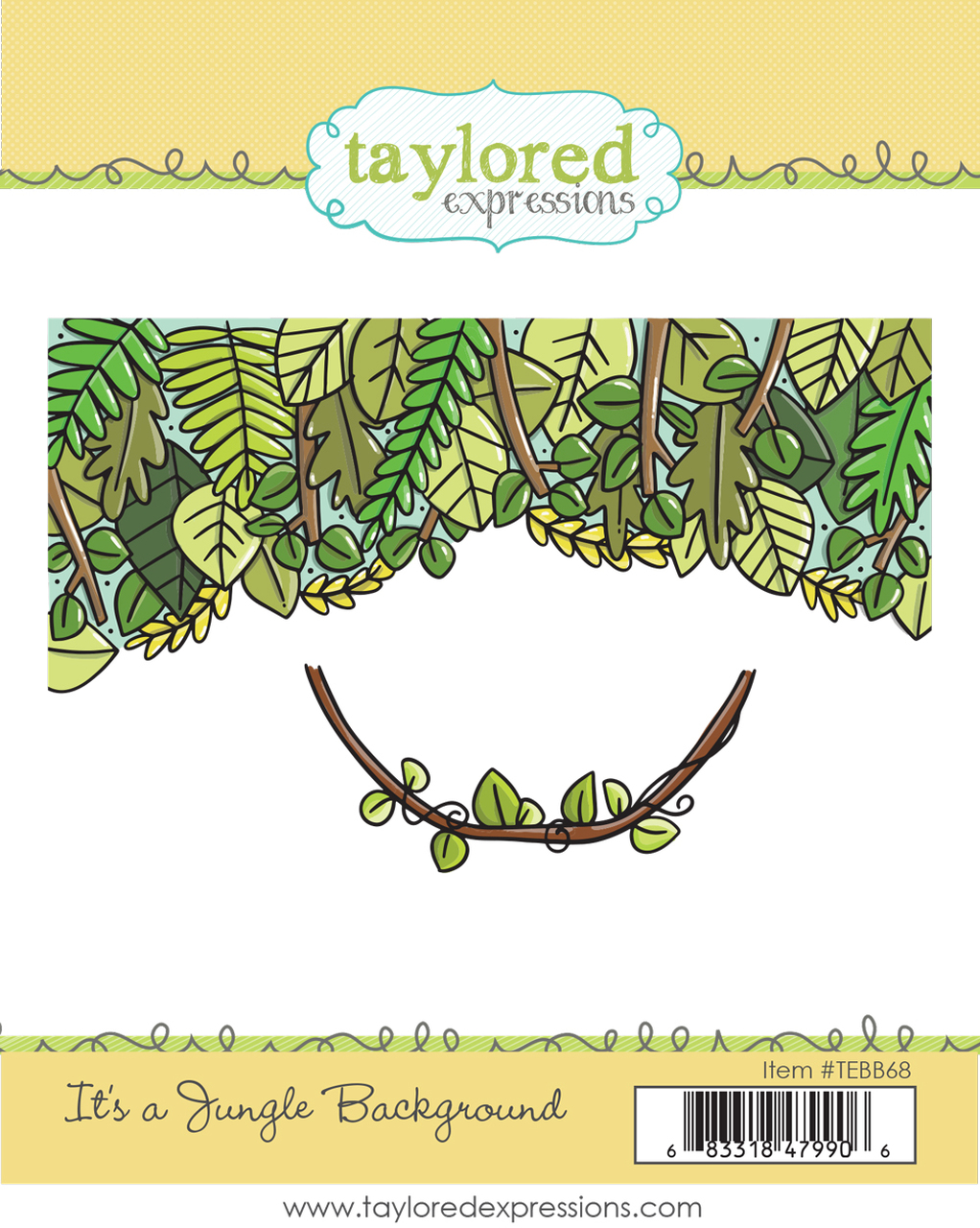 Taylored Expression - It's a Jungle Background