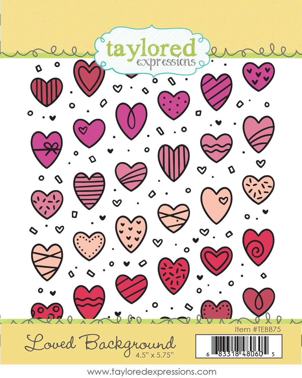 *NEW* - Taylored Expression - Loved Background DUE IN FEBRUARY
