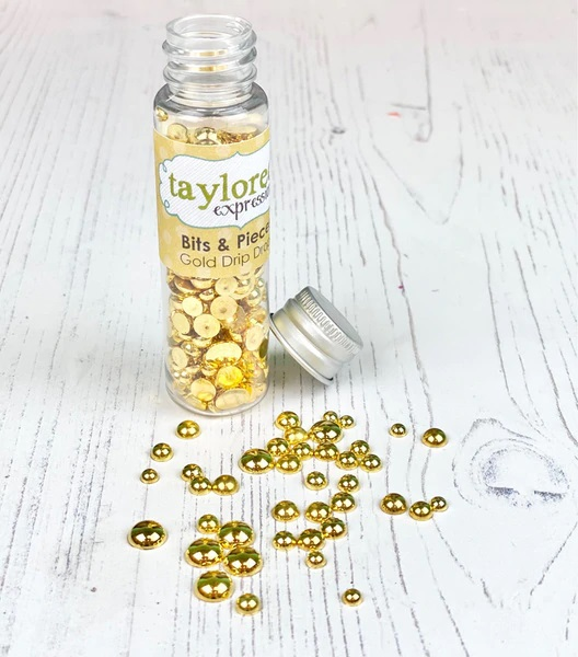 Taylored Expression - Bits & Pieces - Gold Drip Drops