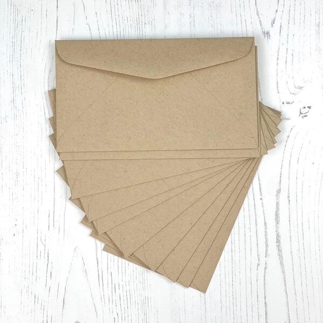 **PRE-ORDER* - Taylored Expression - MINI SLIM ENVELOPES - TOFFEE - PACK OF 10