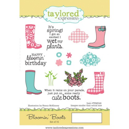 Taylored Expressions - Bloomin' Boots