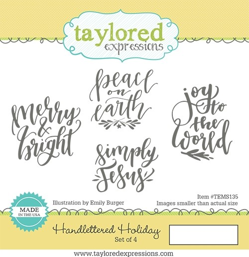 Taylored Expression - Handlettered Holiday