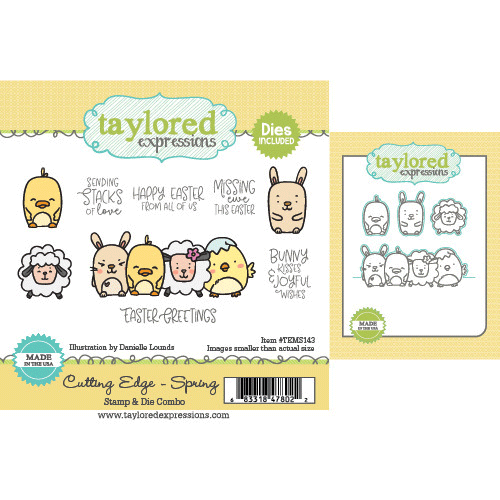 Taylored Expression - Cutting Edge - Spring Stamp & Die Combo