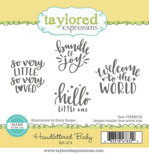 Taylored Expression - Handlettered Baby