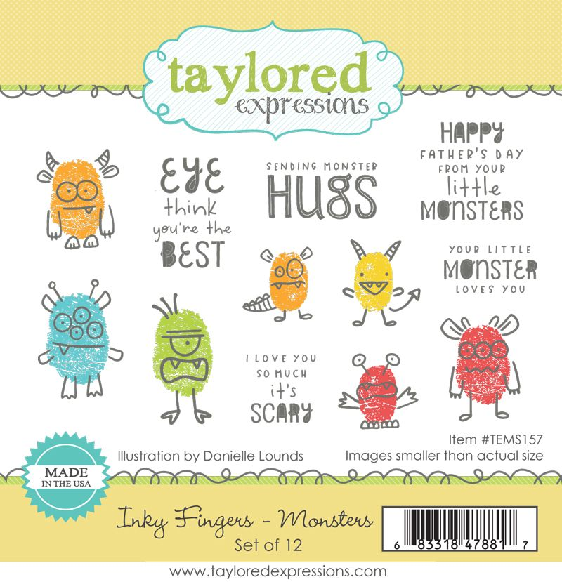 Taylored Expression - Inky Fingers - Monsters