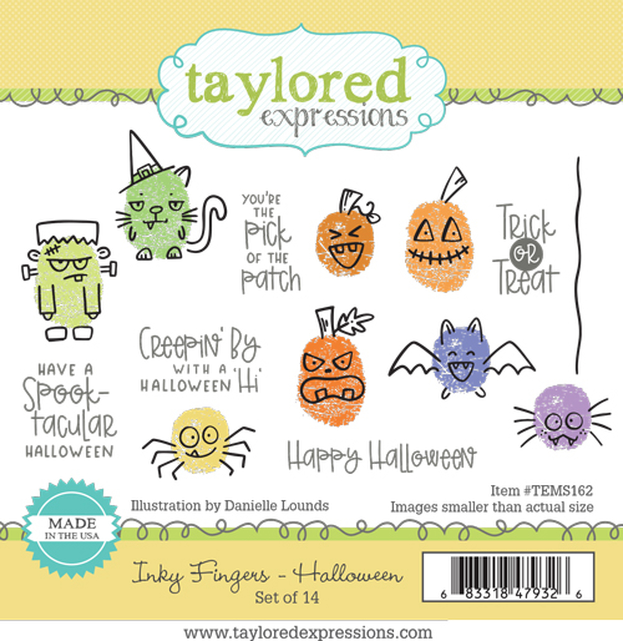 Taylored Expression - Inky Fingers - Halloween