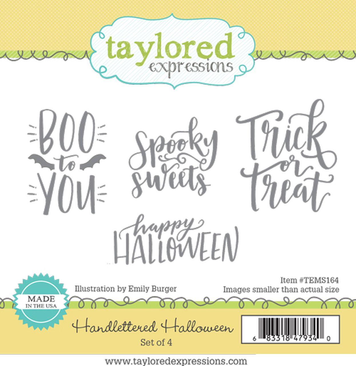 Taylored Expression - Handlettered Halloween
