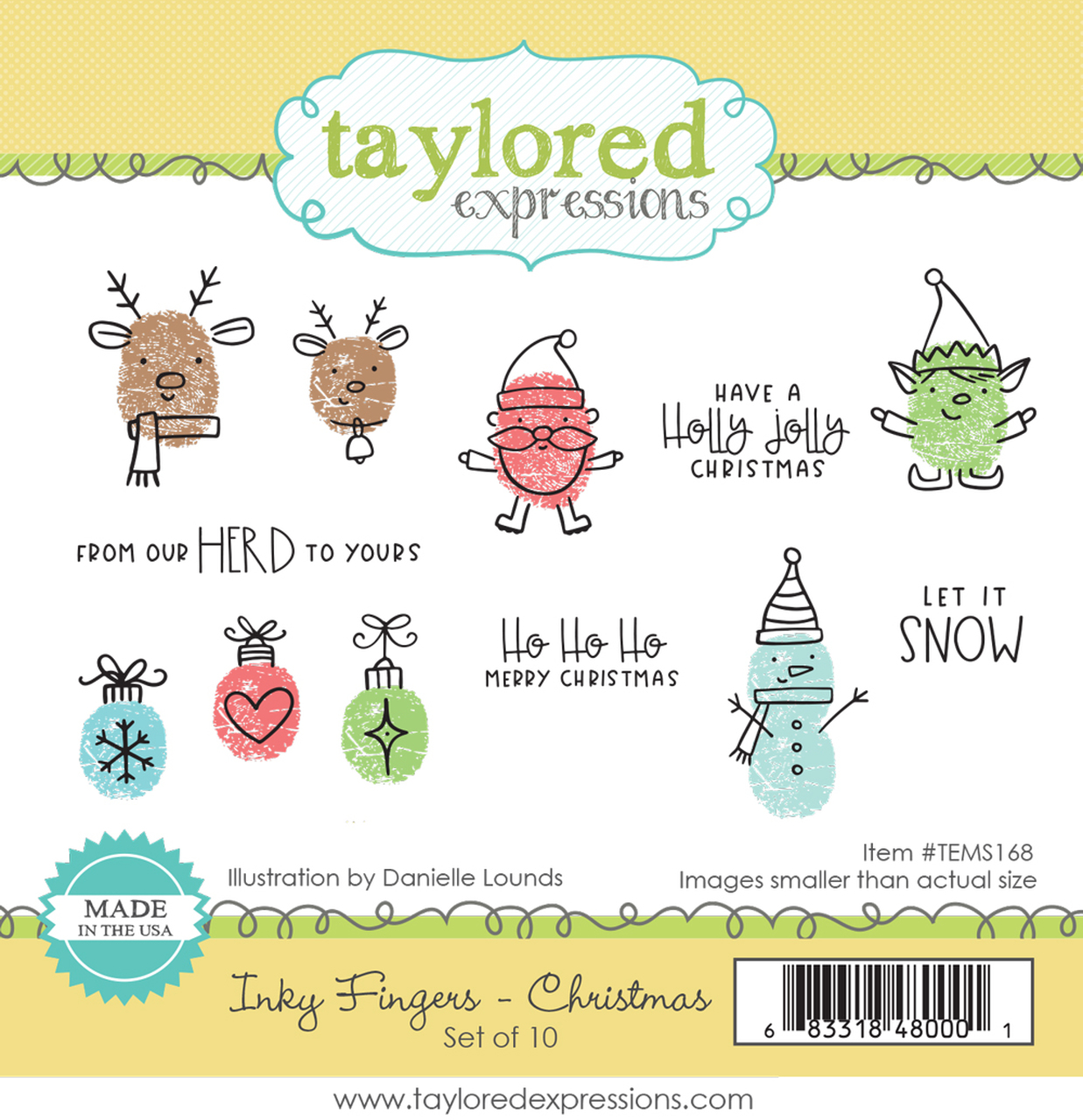 Taylored Expression - Inky Fingers - Christmas