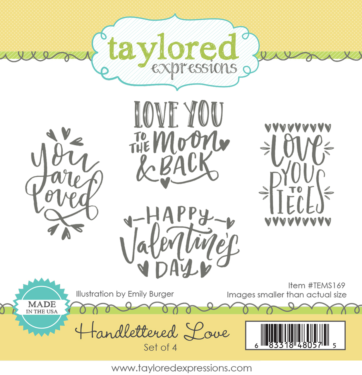 *NEW* - Taylored Expression - Handlettered Love