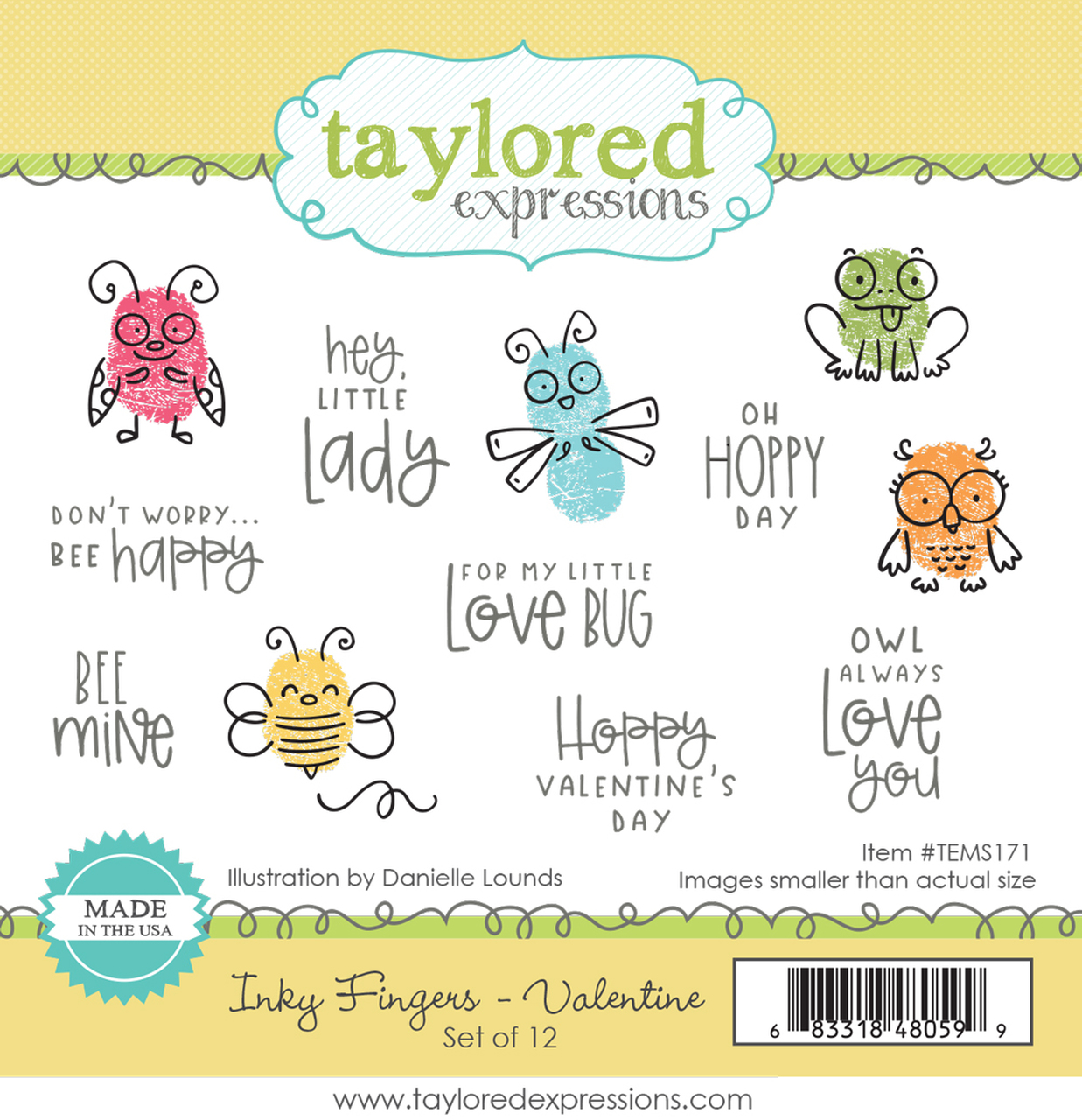 *NEW* - Taylored Expression - Inky Fingers - Valentine DUE IN FEBRUARY